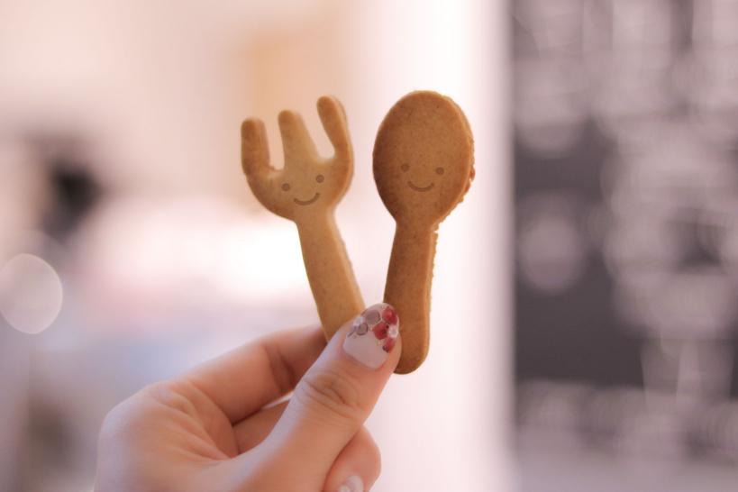 笑顔 クッキー