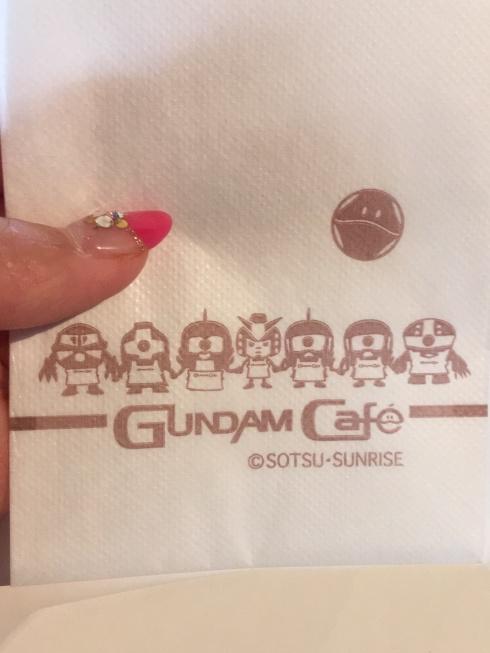 ガンダムカフェ ナプキン