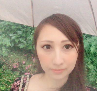 かえで 傘 雨