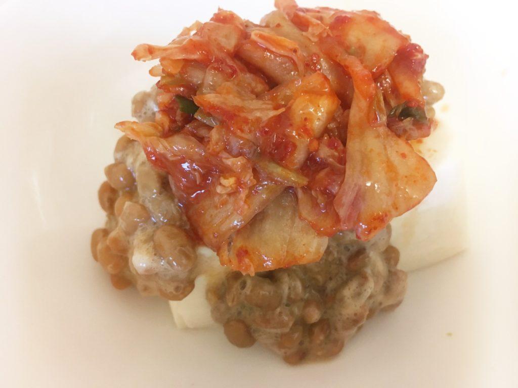 キムチ 納豆 とうふ
