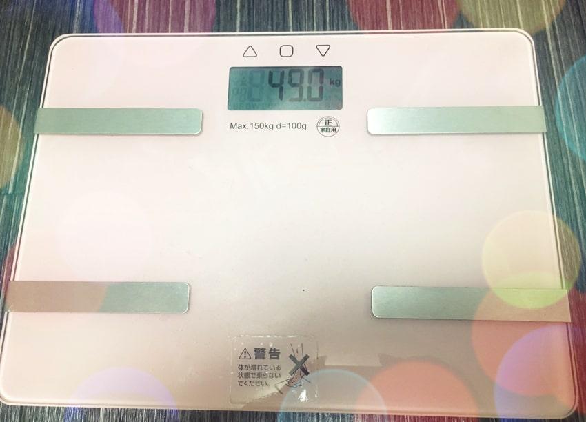 体重 ダイエット 49kg