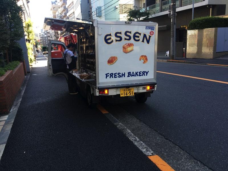 FRESH BAKERY パン移動販売